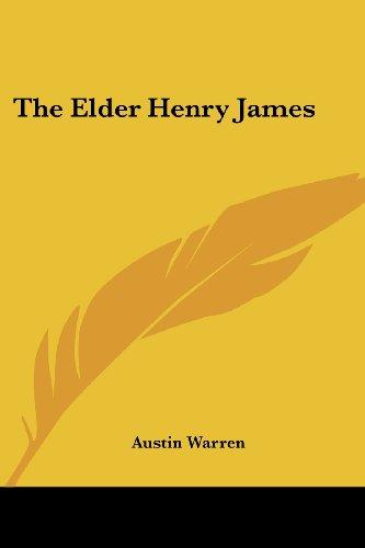 9781419129001: The Elder Henry James