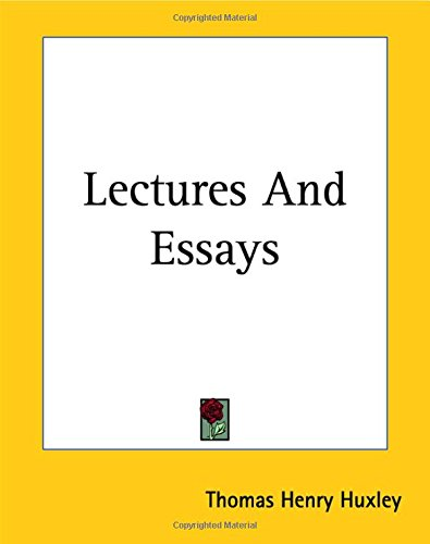 9781419129452: Lectures And Essays