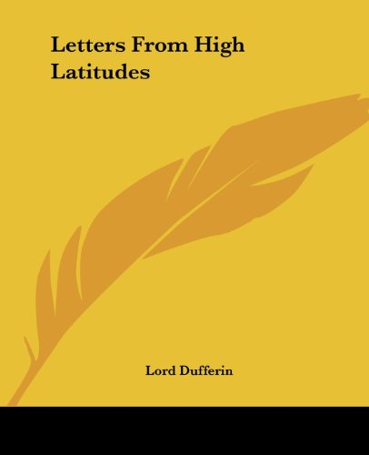 9781419129827: Letters From High Latitudes
