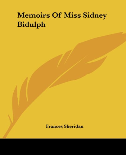 9781419133701: Memoirs Of Miss Sidney Bidulph