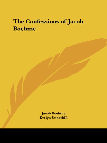 9781419134159: The Confessions of Jacob Boehme