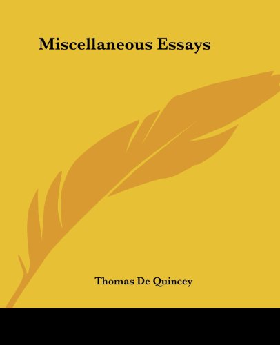 9781419134401: Miscellaneous Essays