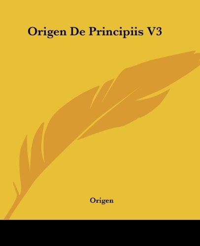Origen De Principiis V3 (1419139258) by Origen