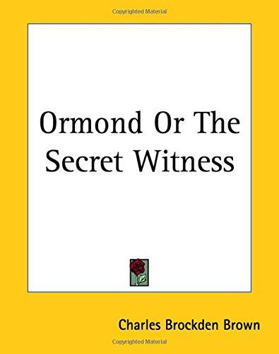 9781419139307: Ormond Or The Secret Witness