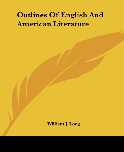 9781419139703: Outlines Of English And American Literature