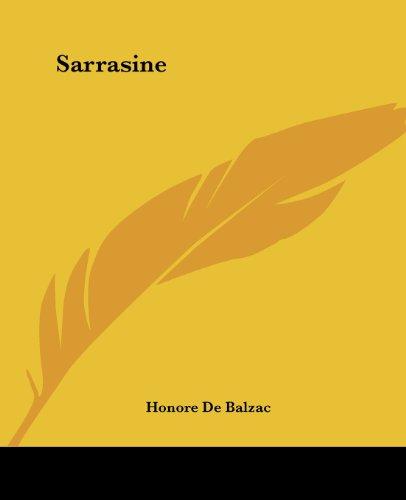 Sarrasine: Balzac, Honore De