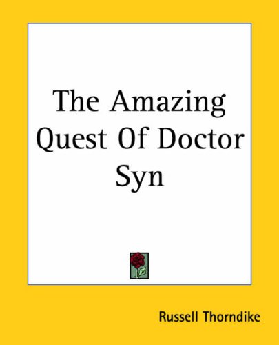 9781419152009: The Amazing Quest Of Doctor Syn