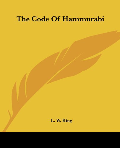 9781419157035: The Code Of Hammurabi