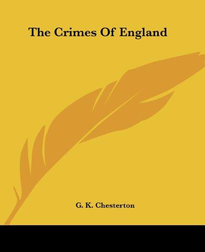 9781419158094: The Crimes Of England