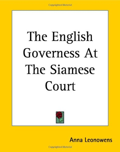 9781419160998: The English Governess at the Siamese Court
