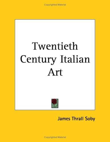 9781419164095: Twentieth Century Italian Art
