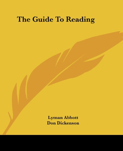 9781419165160: The Guide To Reading