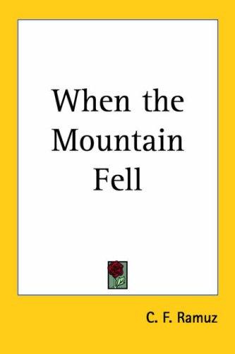 9781419168253: When the Mountain Fell