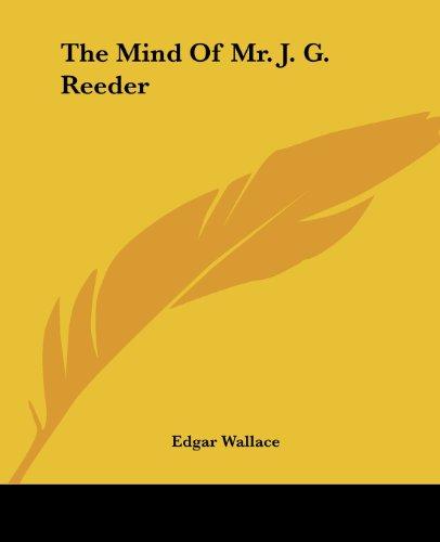 9781419172861: The Mind Of Mr. J. G. Reeder