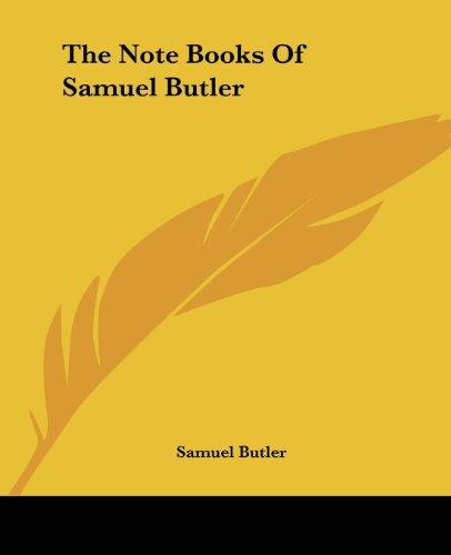 9781419175732: The Note Books Of Samuel Butler