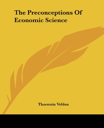 9781419178511: The Preconceptions Of Economic Science