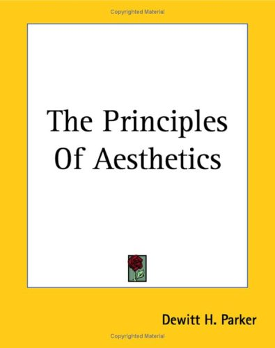9781419178825: The Principles Of Aesthetics