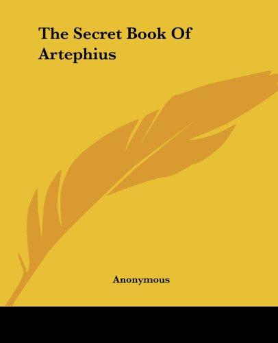 9781419181917: The Secret Book Of Artephius