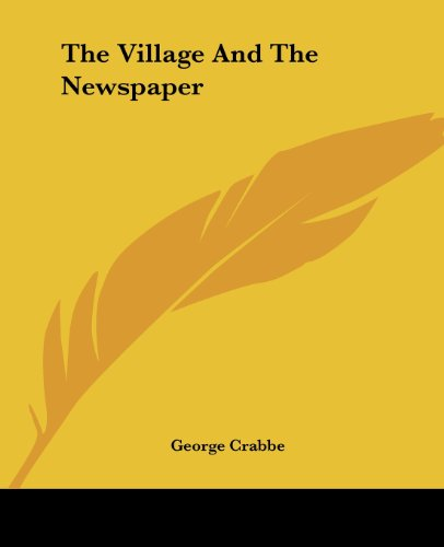 9781419186769: The Village And The Newspaper