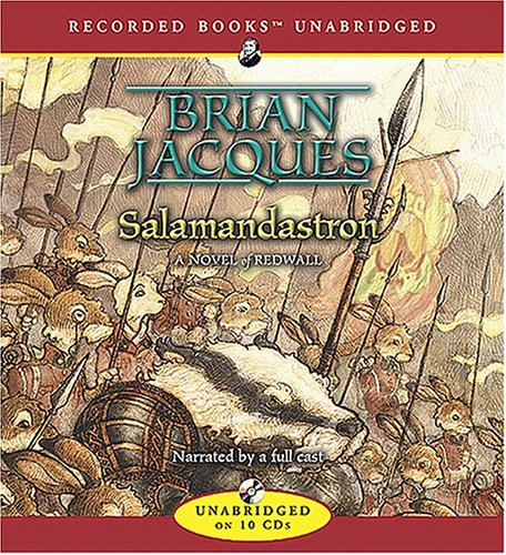 Salamandastron (Redwall (Listening Library Audio)) (1419300458) by Brian Jacques
