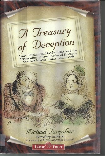 9781419357268: A Treasury of Deception (Large Print)