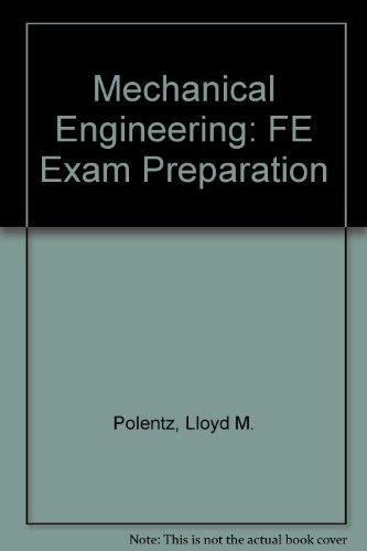 9781419501203: Mechanical Engineering: FE Exam Preparation