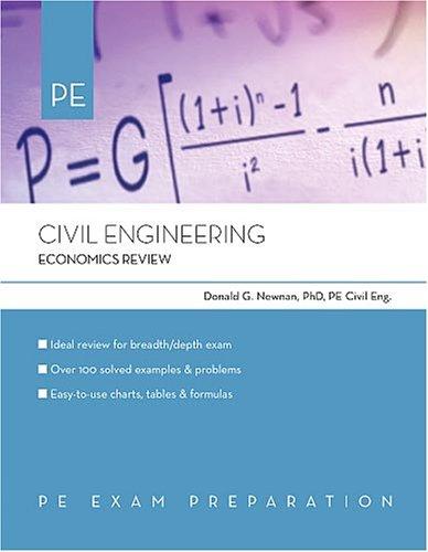 9781419501210: Civil Engineering: Economics Review
