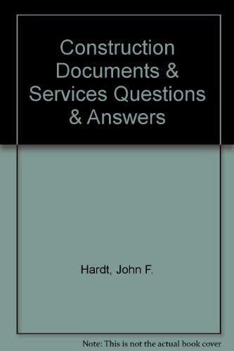 9781419502019: Construction Documents & Services Questions & Answers