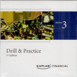 9781419502828: Kaplan Series 3 Drill & Practice CD National Commodity Futures Exam
