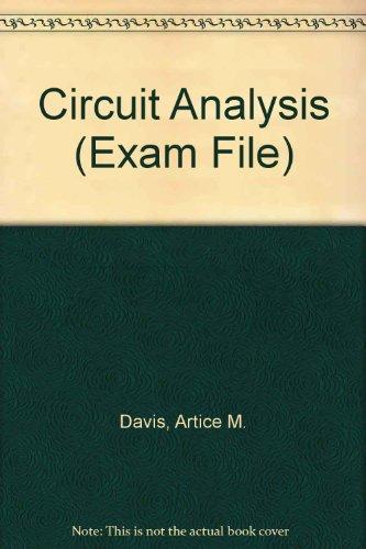 9781419504150: Circuit Analysis (Exam File)