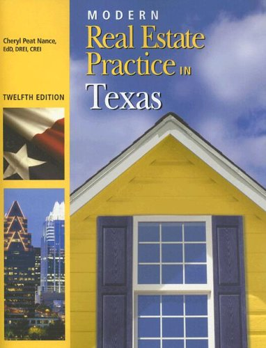 9781419504525: Modern Real Estate Practice in Texas, 12th Edition