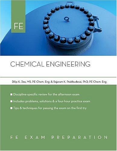 9781419504952: Chemical Engineering: FE Exam Preparation