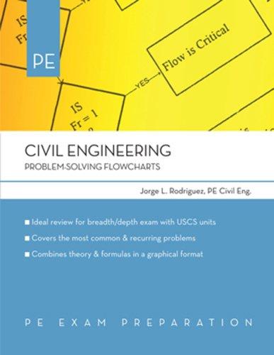 9781419505331: Civil Engineering: Problem-Solving Flowcharts (PE Exam Preparation)