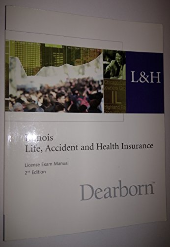 9781419506642: Illinois Life, Accident and Health Insurance License Exam Manual