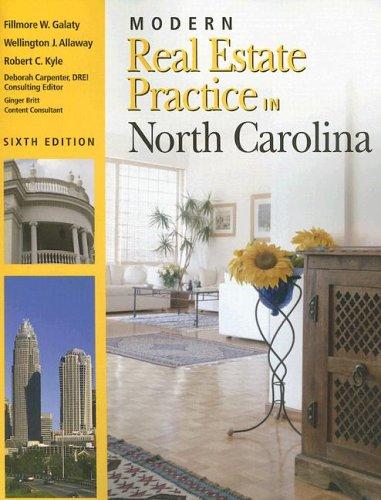 9781419512063: Modern Real Estate Practice in North Carolina