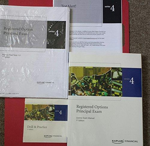 Series 4 Premier Set: Kaplan Publishing