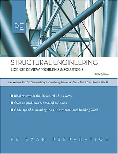 9781419516481: Structural Engineering: License Review Problems & Solutions (PE Exam Preparation)