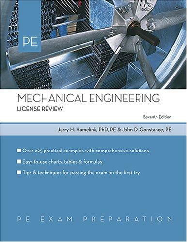 9781419516511: Mechanical Engineering: License Review (PE Exam Preparation)