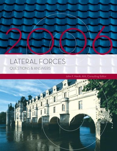 9781419520143: Lateral Forces Questions & Answers, 2006 Edition