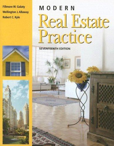 9781419521980: Modern Real Estate Practice