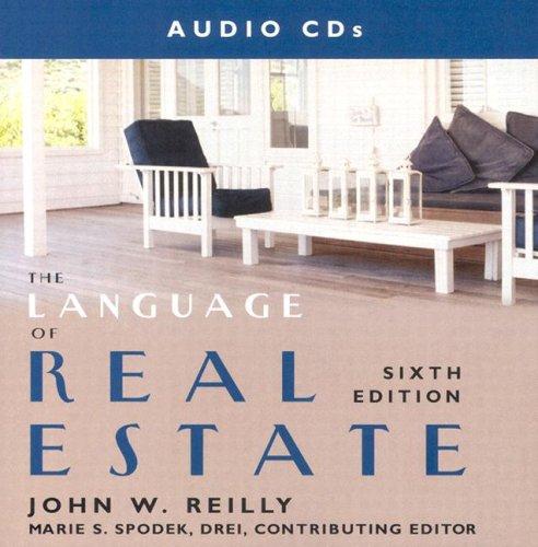 Language of Real Estate Audio CDs (9781419524806) by Kaplan Real Estate Education