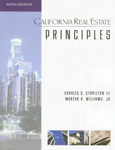 9781419526831: California Real Estate Principles