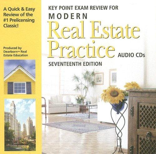Modern Real Estate Practice Audio CDs: Kaplan Real Estate Education