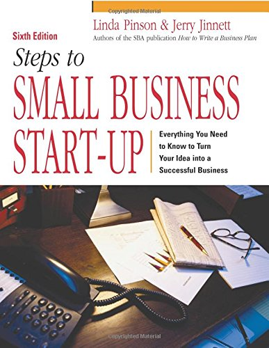 Steps to Small Business Start-Up (141953727X) by Linda Pinson; Jerry Jinnett
