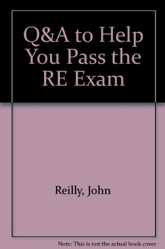 9781419537363: Q&A to Help You Pass the RE Exam CD-ROM