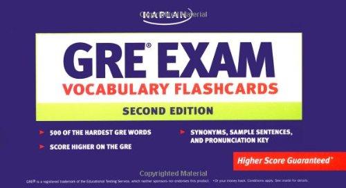9781419541940: GRE Exam Vocabulary Flashcards