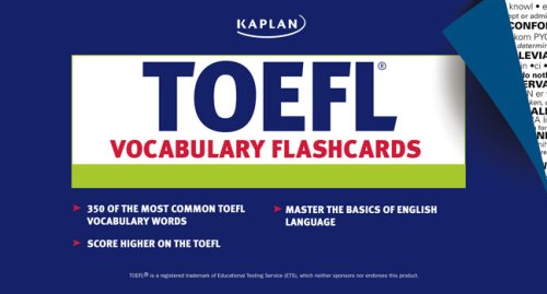 9781419542053: Kaplan TOEFL Vocabulary Flashcards