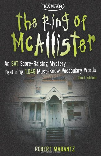 9781419542213: The Ring of McAllister: A Score-Raising Mystery Featuring 1,046 Must-Know SAT Vocabulary Words (Kaplan Test Prep)