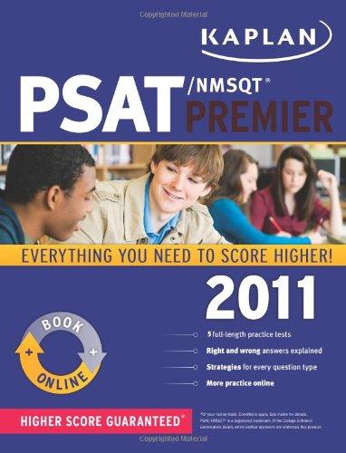 9781419549946: Kaplan PSAT/NMSQT 2011 Premier