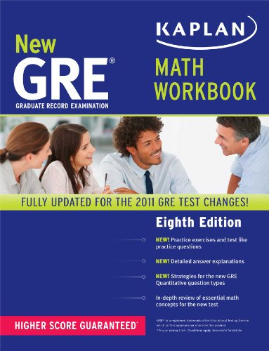 9781419550034: New GRE Math Workbook (Kaplan GRE)